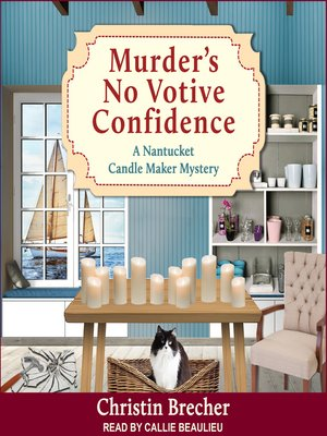 cover image of Murder's No Votive Confidence