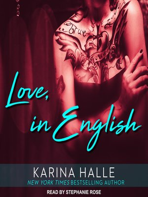 cover image of Love, in English