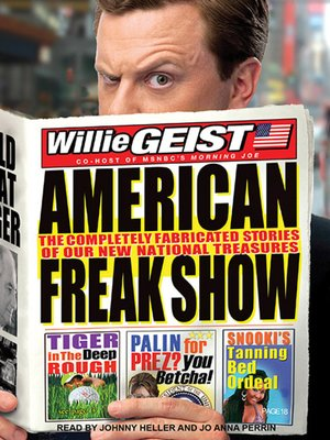 cover image of American Freak Show