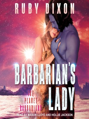 cover image of Barbarian's Lady