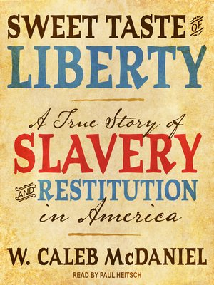 cover image of Sweet Taste of Liberty