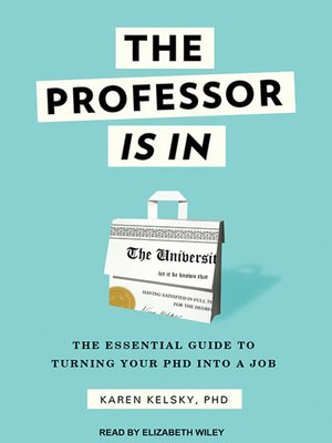cover image of The Professor Is In