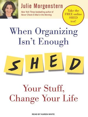 cover image of When Organizing Isn't Enough