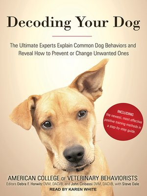 cover image of Decoding Your Dog