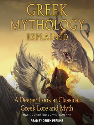 cover image of Greek Mythology Explained