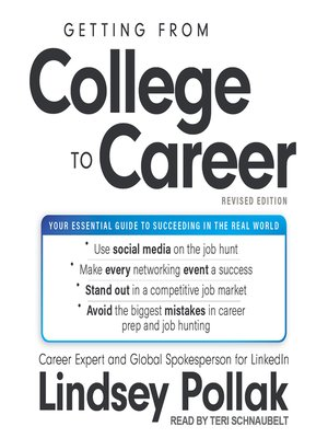 cover image of Getting from College to Career Revised Edition