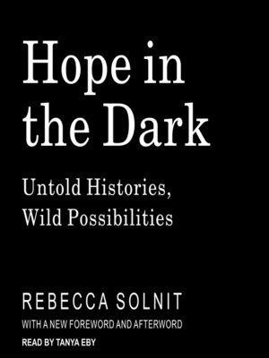 cover image of Hope in the Dark