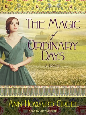 cover image of The Magic of Ordinary Days