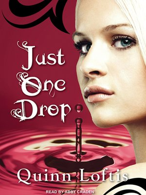 cover image of Just One Drop