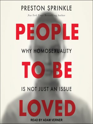 cover image of People to Be Loved