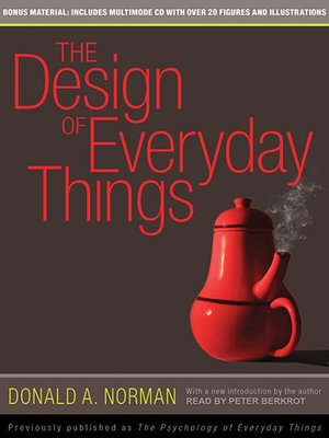 cover image of The Design of Everyday Things