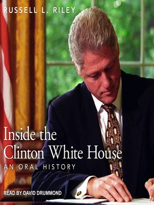 cover image of Inside the Clinton White House