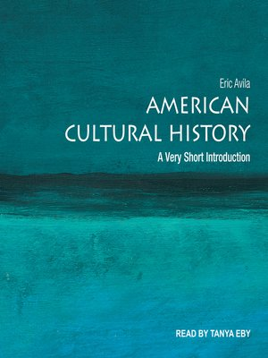 cover image of American Cultural History