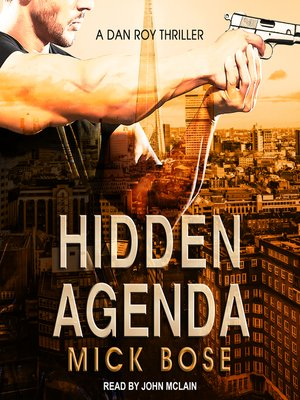 cover image of Hidden Agenda--A Dan Roy Thriller