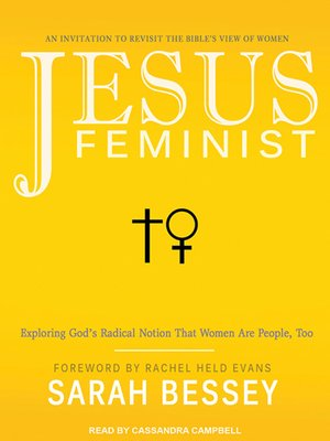 cover image of Jesus Feminist