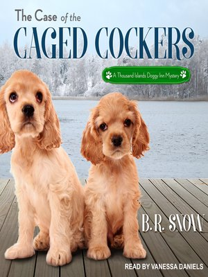 cover image of The Case of the Caged Cockers