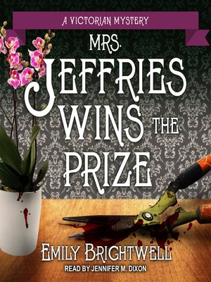 cover image of Mrs. Jeffries Wins the Prize