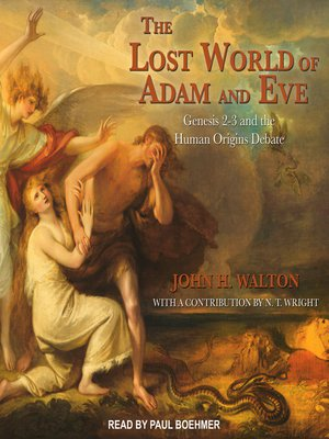 cover image of The Lost World of Adam and Eve