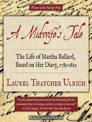cover image of A Midwife's Tale