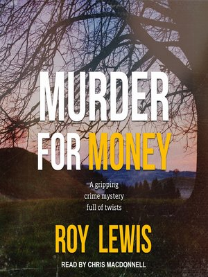 cover image of Murder For Money