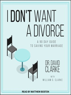 cover image of I Don't Want a Divorce
