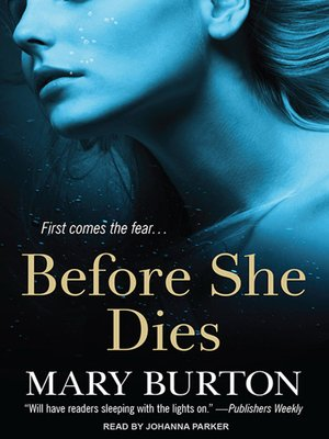 cover image of Before She Dies