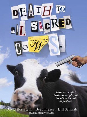 cover image of Death to All Sacred Cows