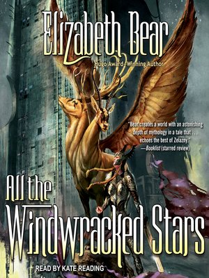 cover image of All the Windwracked Stars