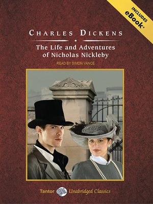 cover image of The Life and Adventures of Nicholas Nickleby