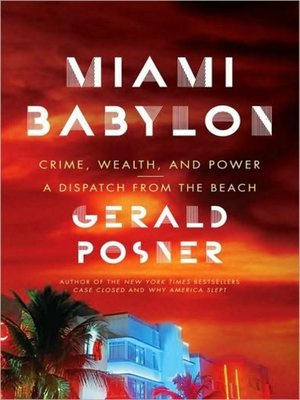 cover image of Miami Babylon