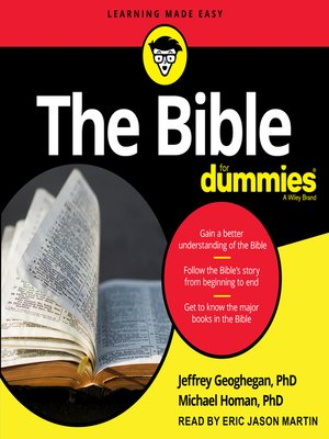 cover image of The Bible for Dummies