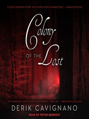 cover image of Colony of the Lost