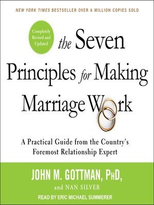 cover image of The Seven Principles for Making Marriage Work