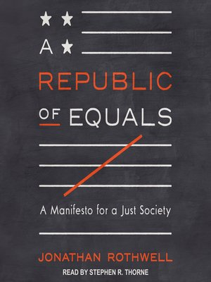 cover image of A Republic of Equals