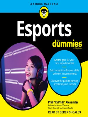 cover image of Esports For Dummies