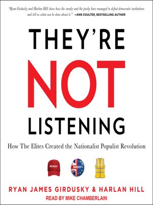 cover image of They're Not Listening