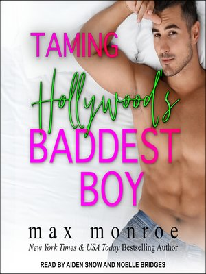 cover image of Taming Hollywood's Baddest Boy