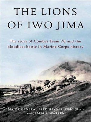 cover image of The Lions of Iwo Jima