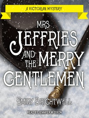 cover image of Mrs. Jeffries and the Merry Gentlemen