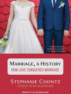 cover image of Marriage, a History