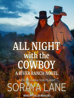 cover image of All Night with the Cowboy