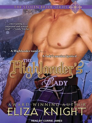 cover image of The Highlander's Lady