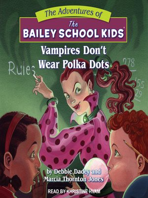 cover image of Vampires Don't Wear Polka Dots