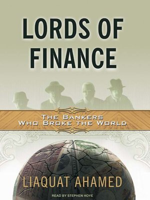 cover image of Lords of Finance