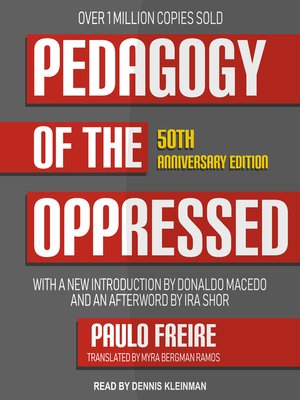 cover image of Pedagogy of the Oppressed