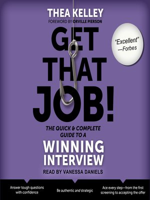 cover image of Get That Job! the Quick and Complete Guide to a Winning Interview
