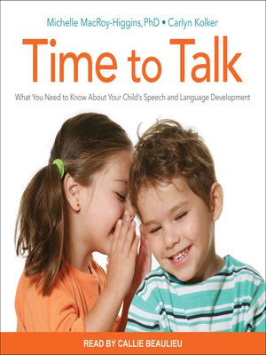 cover image of Time to Talk