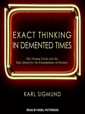 cover image of Exact Thinking in Demented Times