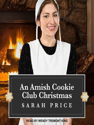 cover image of An Amish Cookie Club Christmas
