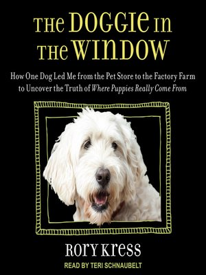 cover image of The Doggie in the Window